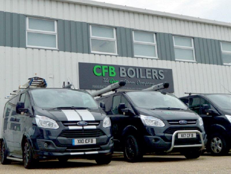 Growth at CFB Boilers