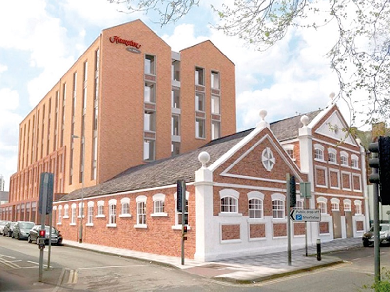 Paragon Laundry site to become new Hampton by Hilton hotel