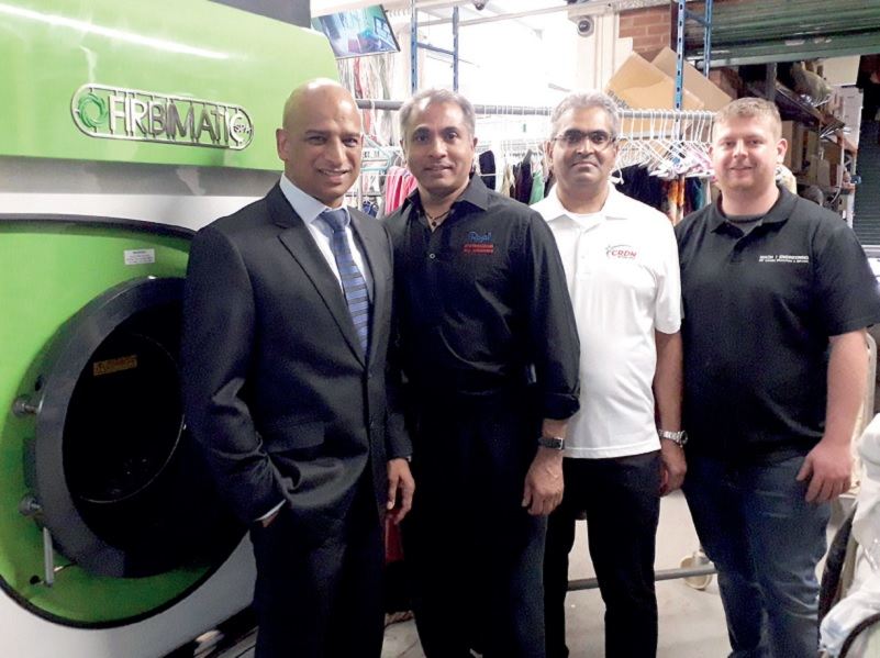 Royal Dry Cleaners turns to HiGlo