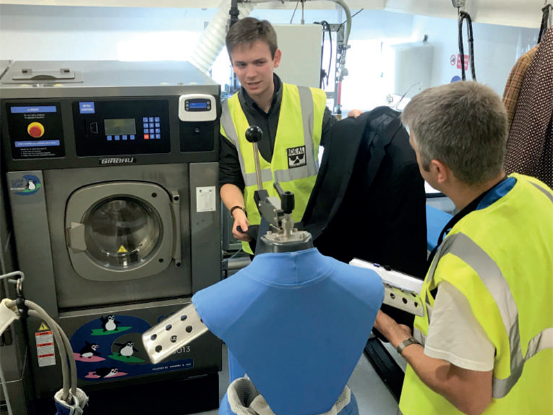 Wet cleaning update – For the love of water