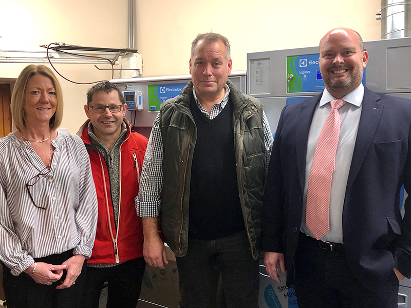 MP joins launch of Somerset wet cleaners