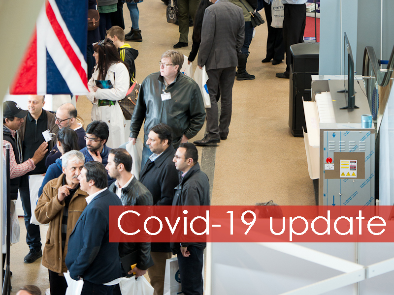 Covid-19 announcement for CleanEx 2020