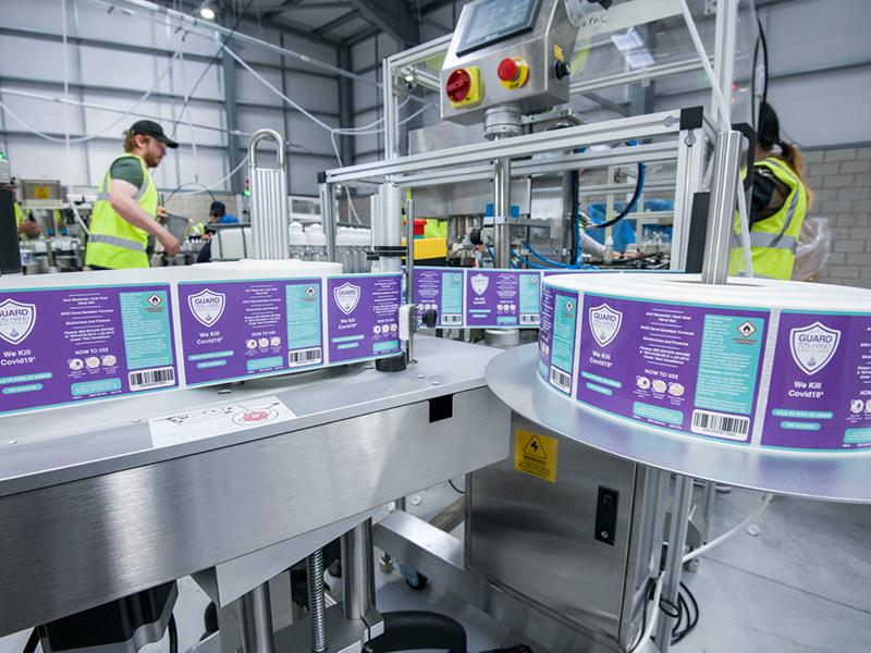 New Shield Guard range certified effective against coronavirus