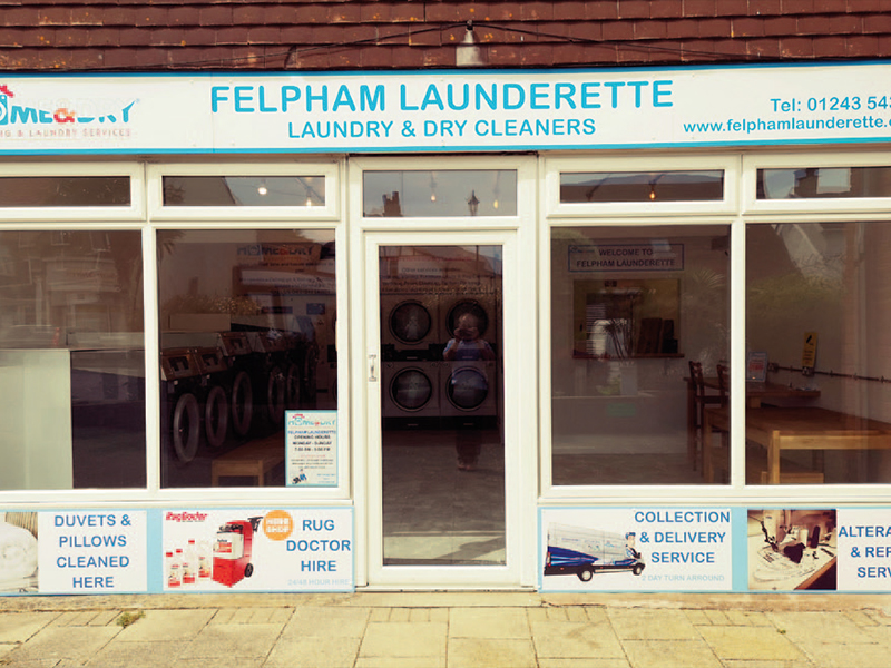 New launderette opens despite lockdown
