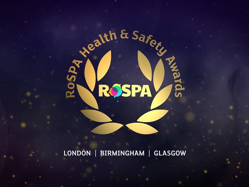 CLEAN scoops 8th RoSPA Gold Medal
