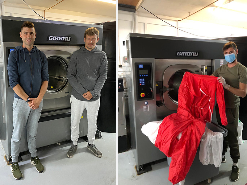 Canvey laundry offers free services to Basildon Hospital