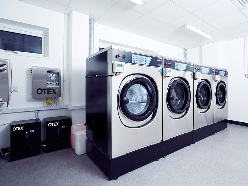 Ozone washing removes all traces of COVID