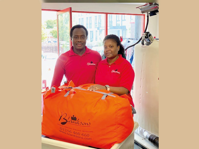 Community drycleaners announce give back