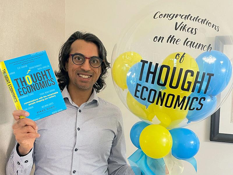 Shah's brand new book