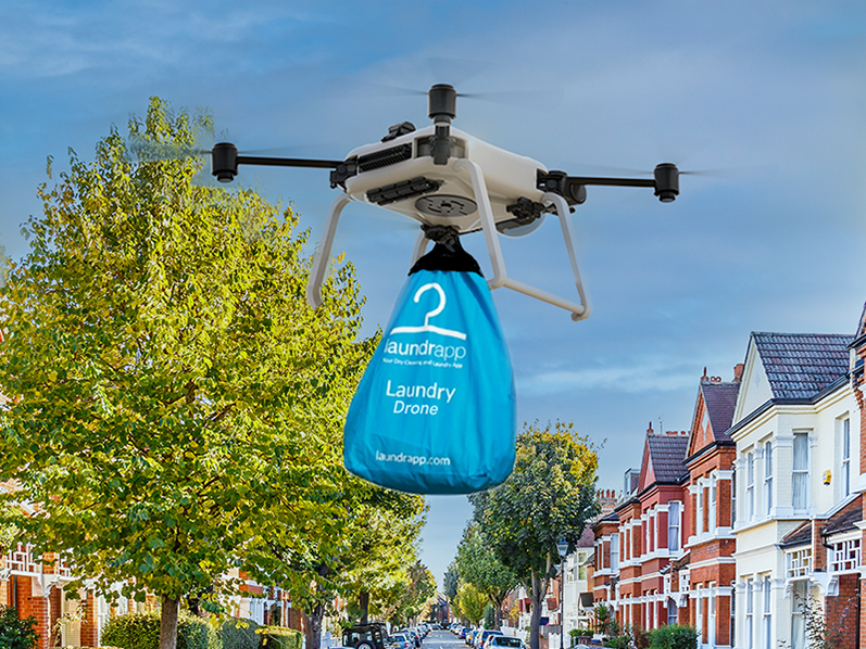 Laundrapp to launch drone pickup and delivery