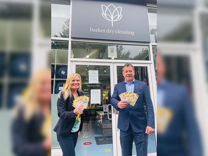 Barker Laundry 'Grow Some Sunshine'