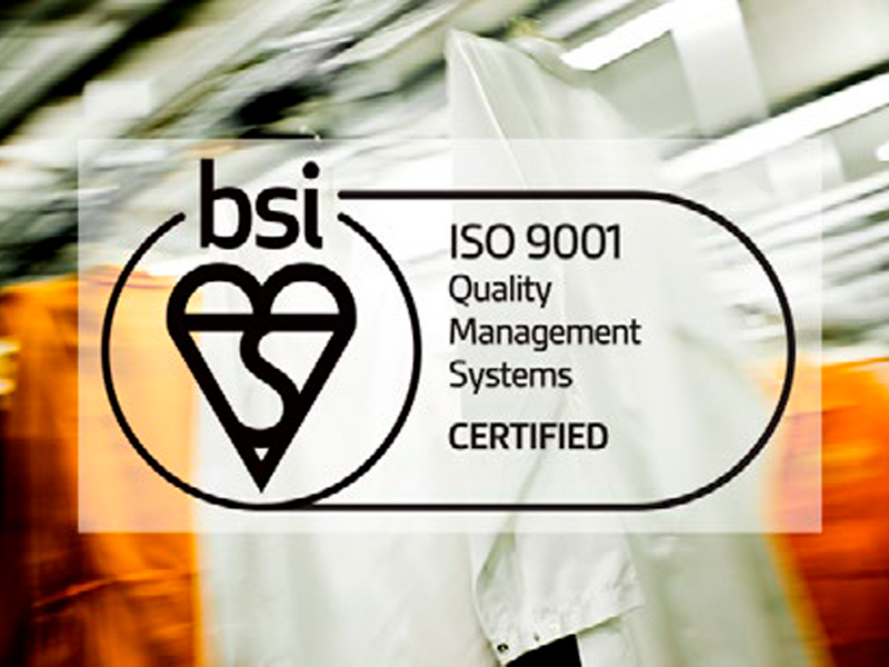 CLEAN announce ISO 9001 certification