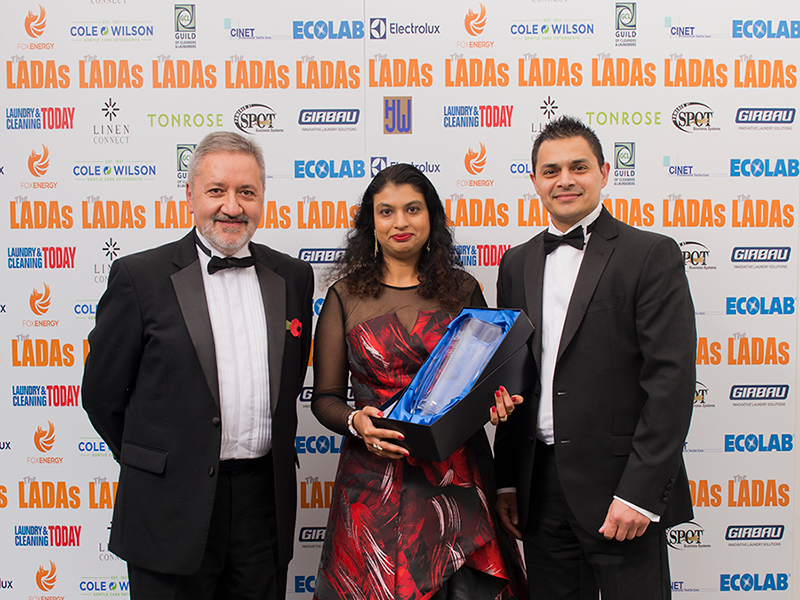 Drycleaners awarded Fellowship of the Guild
