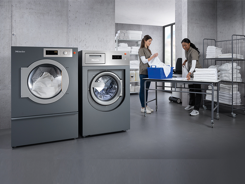 Miele sets a new standard in laundry care