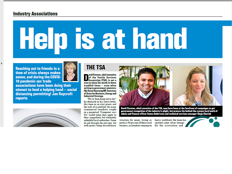 Industry associations: Help is at hand