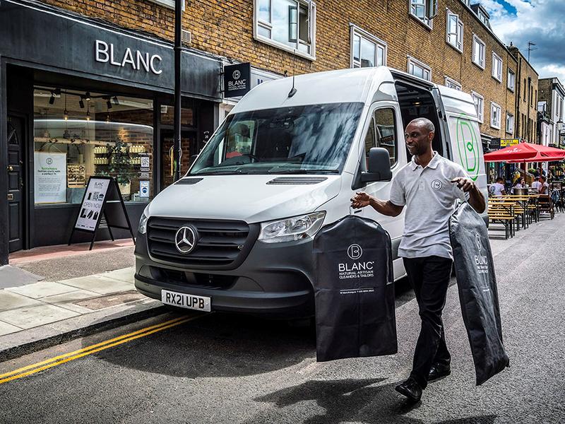 BLANC goes for a Mercedes-Benz eSprinter 'clean sweep'
