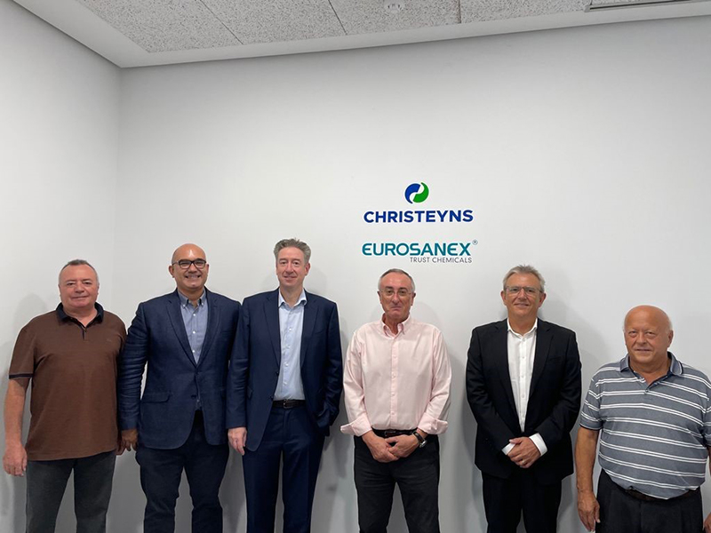 Christeyns acquisition in hygiene sector