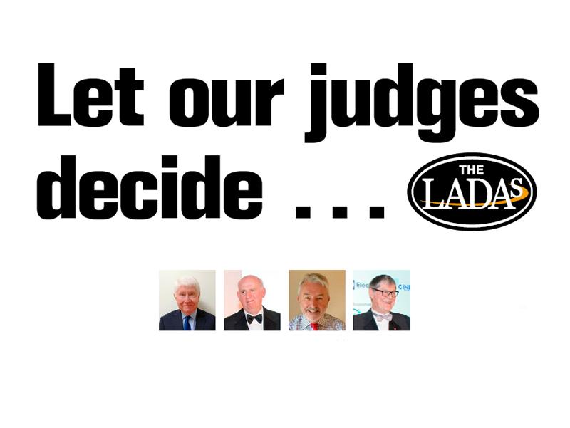 LADAs 2021: Let our judges decide …